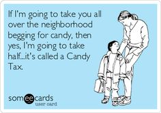 Tough love from moms on Halloween!
