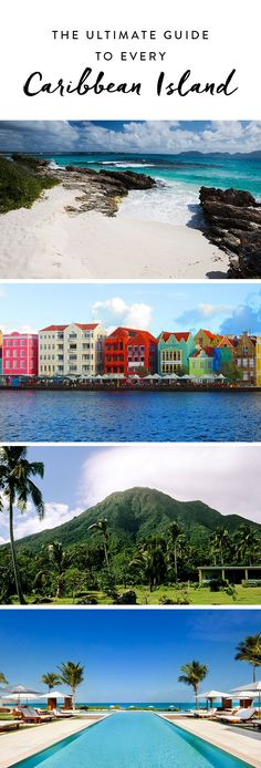We wish summer could last forever, but if there's one good thing about the changing seasons, it's that it gives you the perfect excuse to plan a beach getaway. Here, a complete guide to the Caribbean islands to help you find your perfect trip.