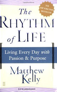 The Rhythm of Life will help you to bring into focus who you are and why you are here. Through this book Matthew Kelly will help you discover your legitimate needs, deepest desires, and unique talents. He will introduce you to the-best-version-of-yourself and lead you to a life filled with passion and purpose.