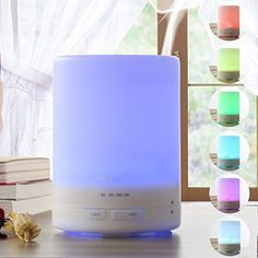300ml Ultrasonic Aromatherapy Eessential Oil Cool Mist Aroma Diffuser with 7 Color Changing LED Lamps and Timer - Cool Mist Mode - Waterless Auto Shut-off... >>> Continue to the product at the image link.