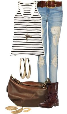 """Casual Bird"" by angela-windsor on Polyvore"