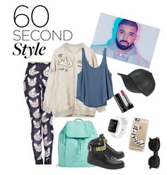 """""""Drake style"""" by taynacoelho ❤ liked on Polyvore featuring RVCA, Vera Bradley, Moschino, Marc Jacobs, Casetify, men's fashion, menswear, DRAKE, views and 60secondstyle"""