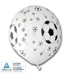 Luftballons Fußball Party