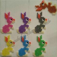 Perler Bead Art, Perler Beads, Perler Patterns, Legos, Chloe, Easter, Baby Shower, Crafts, Mosaics