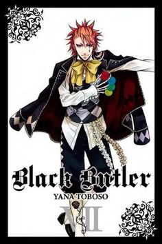 Buy Black Butler, Vol. 7 by Yana Toboso at Mighty Ape NZ. Having successfully infiltrated the Noah's Ark Circus in the guise of rookie performers, Earl Ciel Phantomhive and his butler, Sebastian, set about ga. Black Butler Manga, Joker Black Butler, Anime Guys, Manga Anime, Yes My Lord, Book Of Circus, Mighty Ape, Manga Books, Manga Covers