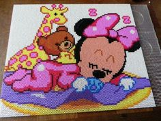 Baby Minnie - Bügelperlen - Perler Beads