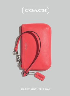 Right on Hue for Mother's Day: the colorful Gift Guide from Coach. See the complete guide and send Mom an e-card by clicking the image above. Coach Handbags, Coach Purses, Purses And Handbags, Coach Baby Bags, Handbag Stores, Purse Wallet, Coach Wristlet, Popular Bags, Travel Accessories