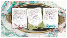The Curated Collection | Momental Designs – Unique Handmade Wedding Invitations, Custom Invitations by Artist, Kristy Rice