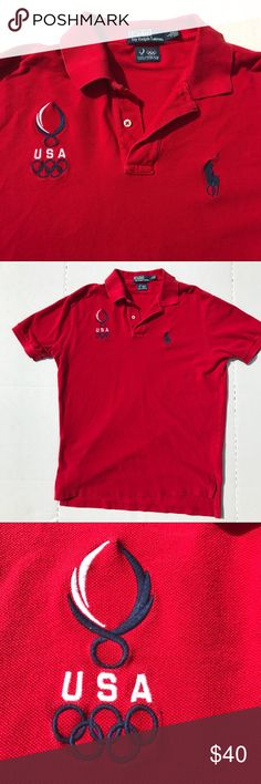 Limited Edition Polo Ralph Lauren Polo This United States Olympic Team and Ralph Lauren collaboration polo is unique and in amazing condition! Polo by Ralph Lauren Shirts Polos