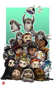 ~Star Wars~ Junkyard — every-day-is-star-wars-day: tyrinecarver: . Star Wars Day, Star Wars Fan Art, Star Wars Cartoon, Pokemon, Star Wars Wallpaper, Cute Stars, Star War 3, The Force Is Strong, Last Jedi