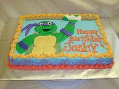 ninja turtles sheet cake - Google Search