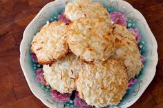 Easy to whip up coconut cookies.