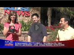 Click to go to a quick video from KUSI News about Kettlebell Exercise and its benefits. Featured in the video are Dr. Ben Fung, PT, DPT (Founder of KettlebellTherapy.com) and Mike Rein, MS, BS, Exercise Physiologist.