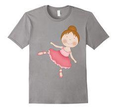 Ballerina T-shirt - GirlWithDesignIdeas.com