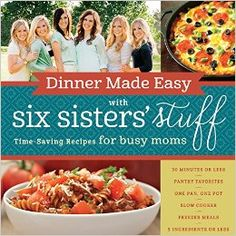 Our NEW Dinner Made Easy Cookbook is now available for pre-order! (Find it on Amazon for $13.58 today!