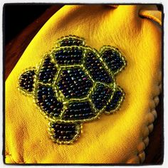 Another turtle with a different beading twist