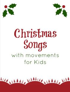 Christmas Songs for Kids to Sing
