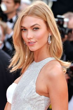 The best beauty looks spotted at the Cannes Film Festival: Karlie Kloss