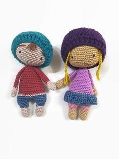 Crochet Soft Doll Amigurumi Doll Plush Soft by CreoErgoSumHandmade