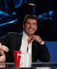 Simon Cowell, an original American Idol Judge www.