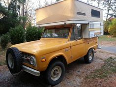 1970 Ford Bronco Camper Rare Uncut