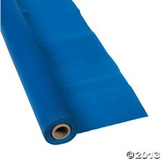 Blue Tablecloth Roll  (use to create a multi colored carnival tent look) $10.50 for 100 ft