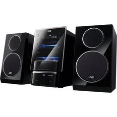 JVC UX-LP55 CD Micro Audio System with iPhone/iPod Dock