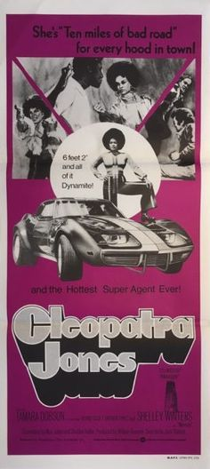 Cleopatra Jones Original Blaxploitation 1973 Australian & NZ Daybill Poster. Available for purchase from our website.