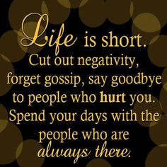 Life is too short!!!