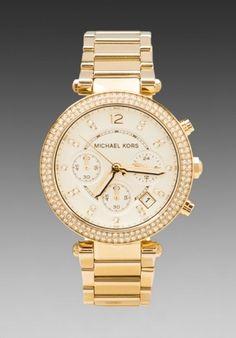 Parker Chronograph Watch Michael Kors