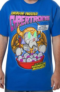 Cybertrons Cereal Transformers Shirt