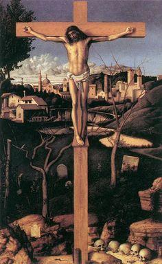 Crucifixion by BELLINI, Giovanni #art