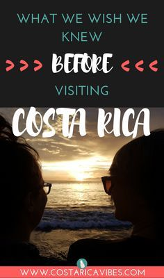 Costa Rica is an amazing country to visit, but there are some things you should know before visiting Costa Rica. Here are tips for budget, food, transportation and more!