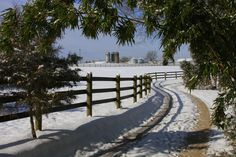 """""""Welcome Winter"""" (King William, Virginia) by Ellen Davidson (featured in the Richmond Times-Dispatch on November 22, 2014). Fun Fact: This is a 2014 Virginia Vistas Photo Contest Honorable Mention winner in our Farms & Open Space Category. ENJOY!!"""