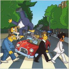 Abbey Road en Springfield