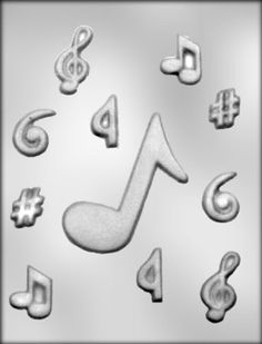 CK Products 2Inch and 4Inch Music Notes Chocolate Mold ** This is an Amazon Affiliate link. Want additional info? Click on the image.