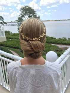 Bridal wedding Hair Updo by @couturehair