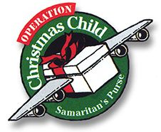 Operation Christmas Child is through Samaritan's Purse. They bring shoe boxes back with toys and other items to children around the world at Christmas time