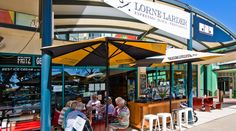 Lorne Larder Lorne Cafes and Bars Restaurants Great Ocean Road Victoria