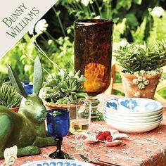 Bunny Williams Kitchen Hearth Tablecloth from Ballard.