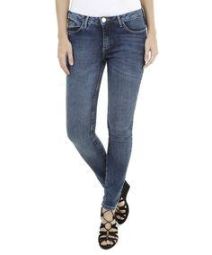 Calça Jeans Skinny Ateen Azul Escuro - cea