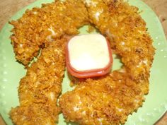 Catfish Recipes, Spicy Chicken Recipes, Chicken 21 Day Fix, Homemade Mustard, Crusted Chicken, Cereal Recipes, Homemade Sauce, Chicken Tenders, Other Recipes
