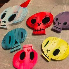 Fun Skulls by Joe Scarono!