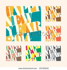 New year 2014 Greeting tag and label, EPS10 vector format