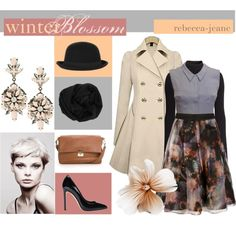 """""""Winter Blossom"""" by rebecca-jeane on Polyvore"""