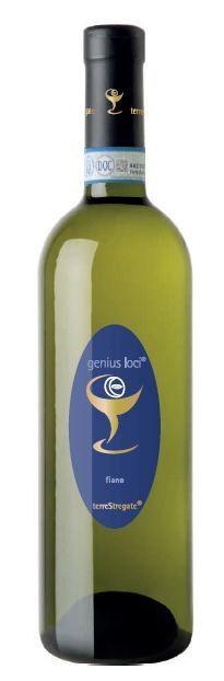 WHITE WINE FIANO SANNIO PDO GENIUS LOCI - TERRE STREGATE  Excellent wine produced in Sannio Benevento in Campania, of straw color, with strong floral scents, intense and persistent