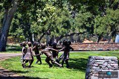 Statues - Michael Jacksons Neverland Valley Ranch - 5225 Figueroa Mountain Road, Los Olivos, CA