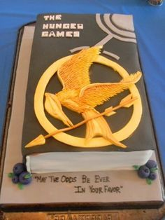 The Hunger Games book cake