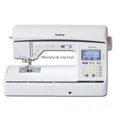 Brother NV1300 to bardzo nowoczesna elektroniczna maszyna do szycia, która posiada menu w języku Brother, Sewing, Dressmaking, Sew, Stitching, Full Sew In, Costura