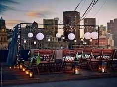 Rooftop Decoration Party Outdoor stage rooftop party modest means parties Source: website rooftop dinner party decor inspiration party d. Ikea Outdoor, Outdoor Stage, Outdoor Living, Rooftop Party, Rooftop Wedding, Rooftop Terrace, Terrace Garden, Plein Air Ikea, Patio Chico